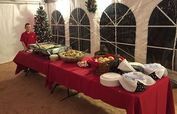 Holiday Party Catering Caldwell
