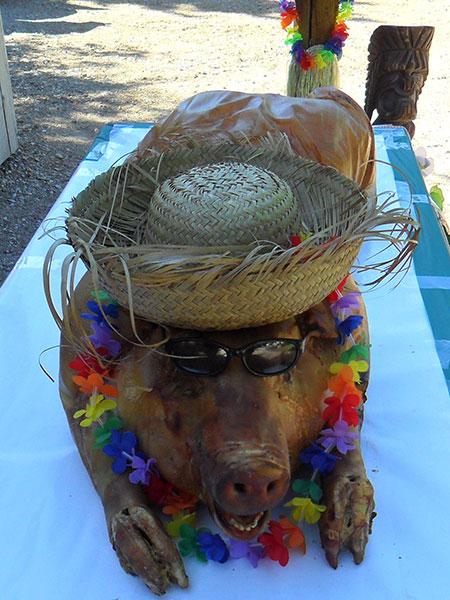 BBQ Luau Pig